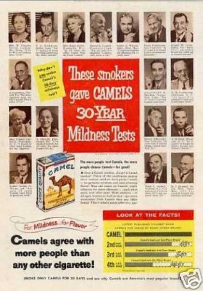 Camel Cigarettes (1953)