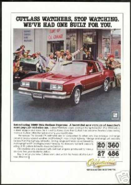 Oldsmobile Cutlass Supreme T-Top Photo (1980)