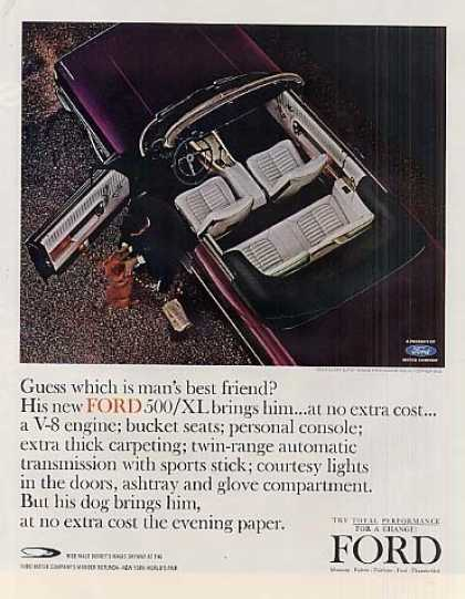 Ford Galaxie 500/xl Convertible Car (1964)