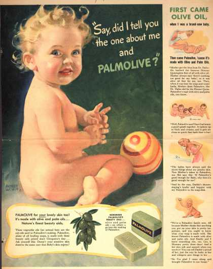 "Palmolive Company's Palmolive Soap – ""Say, did I tell you the one about me and Palmolive?"" (1942)"
