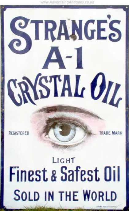 Strange's A-1 Crystal Eye Ointment