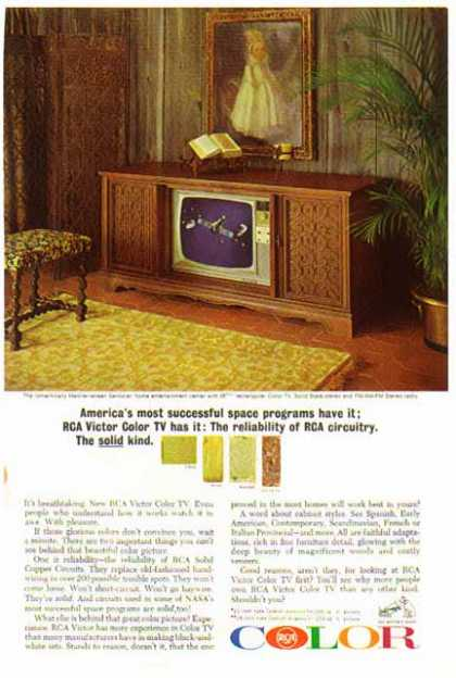 "RCA – 25"" Mediterranean Home Entertainment Center (1965)"