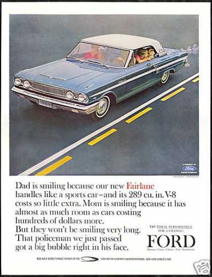 Ford Fairlane 500 Sports Coupe Vintage Photo (1964)