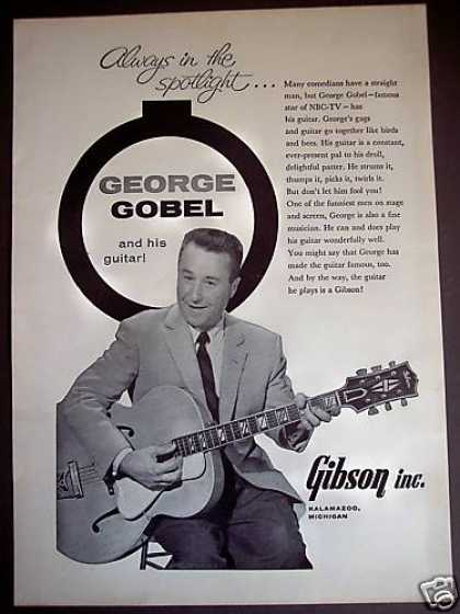 George Gobel Photo Gibson Guitar (1961)