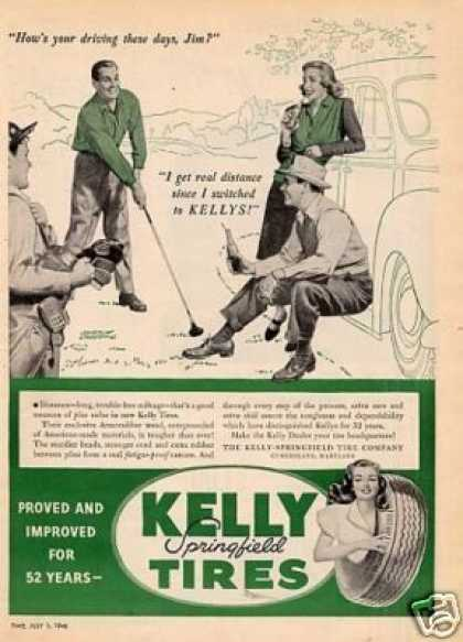 Kelly Springfield Tires (1946)