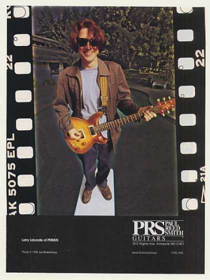 Primus Larry LaLonde PRS Guitar Photo (1996)
