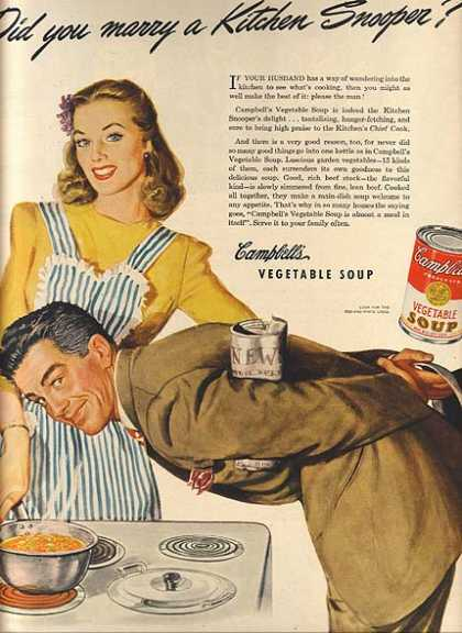 Campbell's Vegetable Soup (1944)