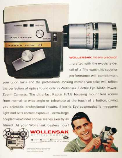 Wollensak 8mm Movie Camera (1961)