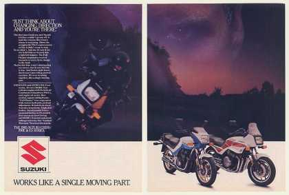 Suzuki GS550 700E & ES Series Motorcycle (1985)