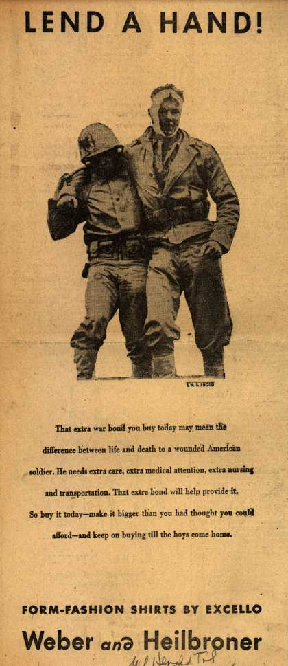 Weber and Heilbroner's War Bonds – Lend a Hand (1945)
