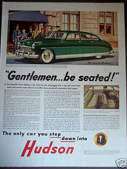 Hudson Commodore Step Down Design Car (1948)
