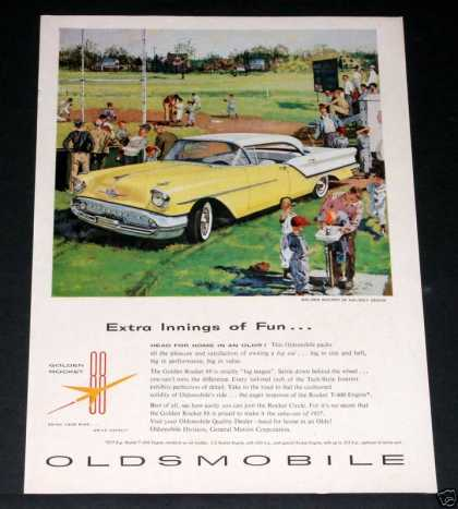 Oldsmobile Golden Rocket 88 (1957)