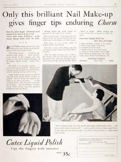 Cutex Nail Polish (1931)