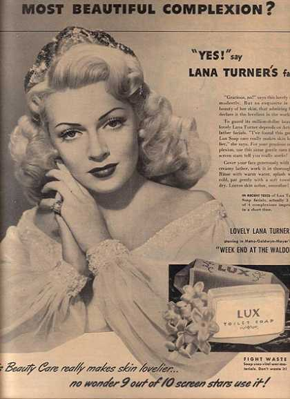 Toilet Soap – Lux (1945)