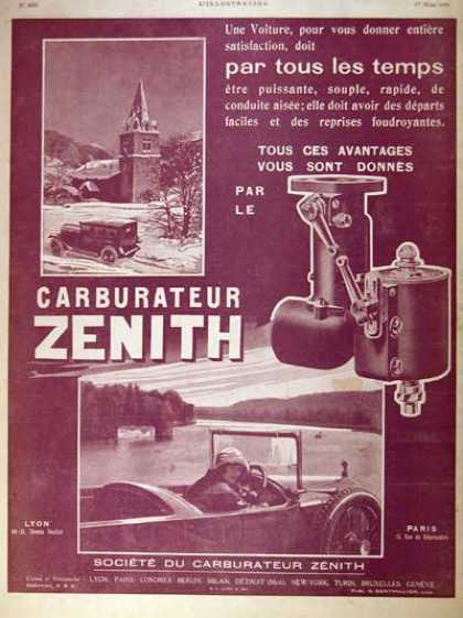 Zenith Carburaters (1924)