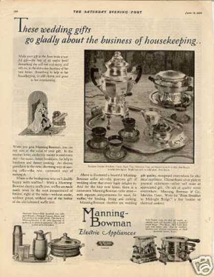 Manning-bowman Electric Appliances (1926)
