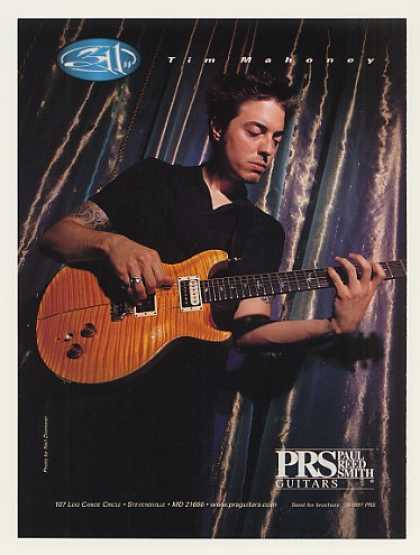 Tim Mahoney 311 PRS Guitar Photo (1997)