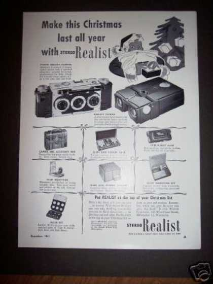Original Stereo Realist 35mm Camera (1951)