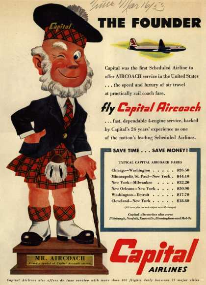 Capital Airline's Aircoach – The Founder (1953)