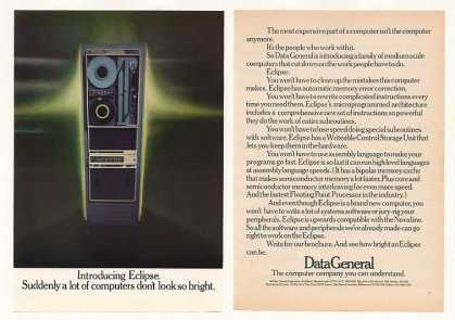 Data General Eclipse Computer (1974)