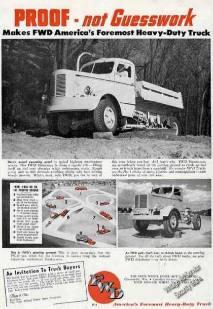 Fwd America's Foremost Heavy-duty Truck (1950)
