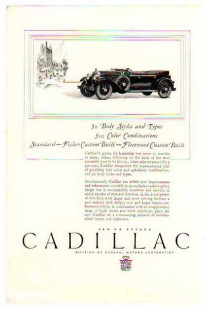 Cadillac Car – Fleetwood Custom Built / 90 Degree Cadillac (1926)