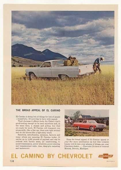 Chevy El Camino Broad Appeal Rancher Photo (1965)