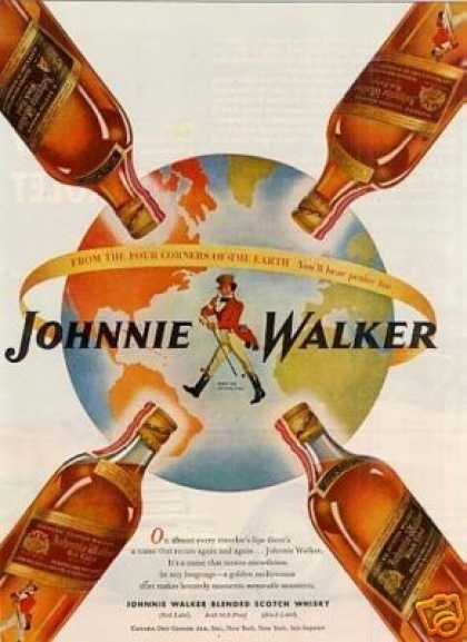 Johnnie Walker Scotch Whisky (1946)