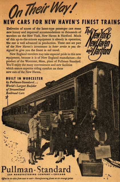 New Haven Railroad's New Cars – On Their Way (1948)