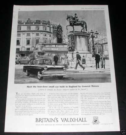 Vauxhall Automobile (1959)