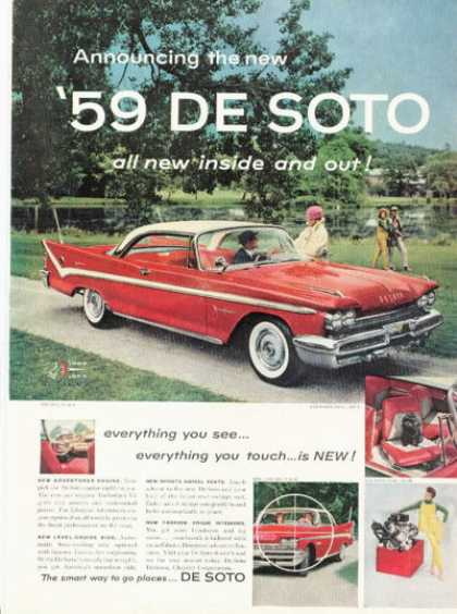 De Soto Desoto Swivel Seats (1959)