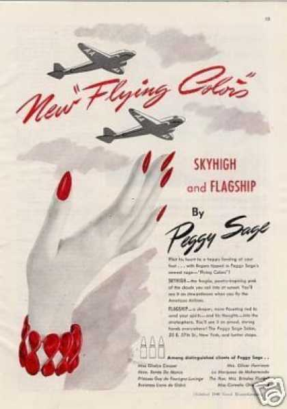Peggy Sage Nail Polish (1940)