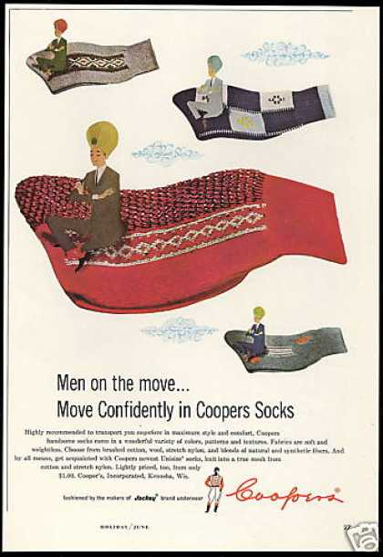 Cooper Socks Magic Flying Carpet (1958)