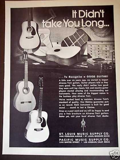 Alvarez Yairi Guitars St Louis Music (1978)