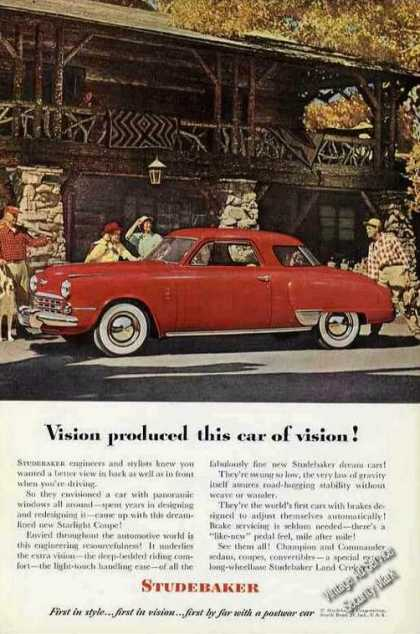 "Studebaker ""Vision Produced This Car of Vision"" (1948)"