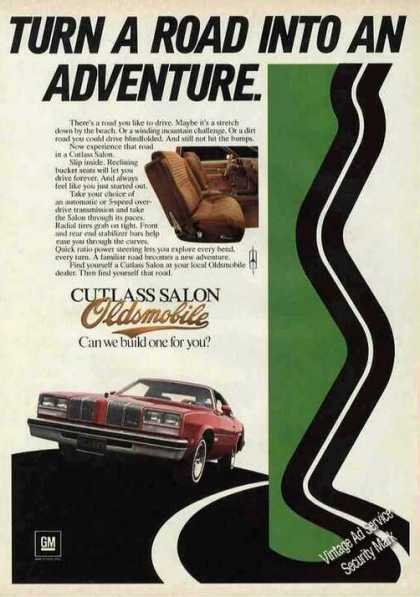 "Oldsmobile Cutlass Salon ""Road Into Adventure"" (1976)"