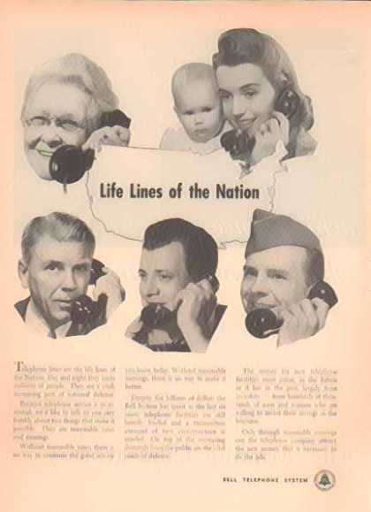 Bell Telephone System – Life Lines of The Nation (1951)