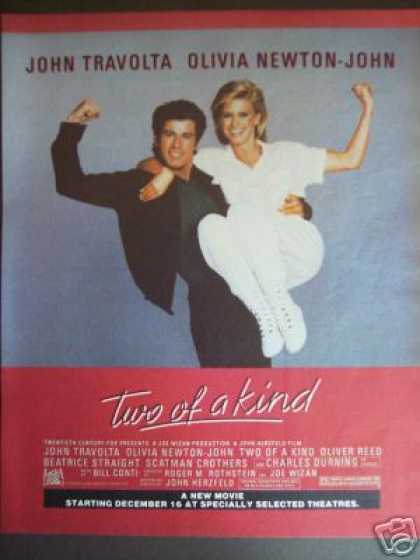 Two of a Kind Travolta Newton-john Movie Promo (1984)