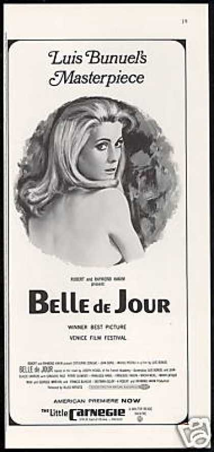 Catherine Deneuve Belle de Jour Movie Promo (1968)