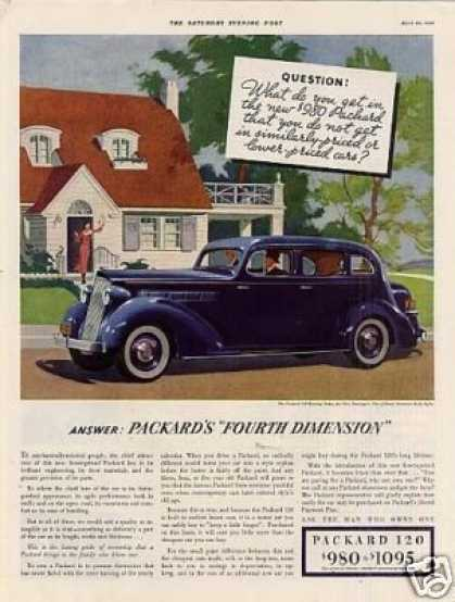 Packard 120 Touring Sedan Color (1935)
