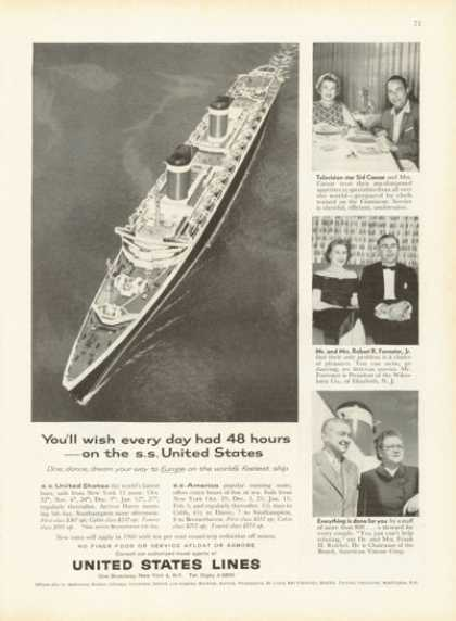 United States Lines Cruise Ship (1959)