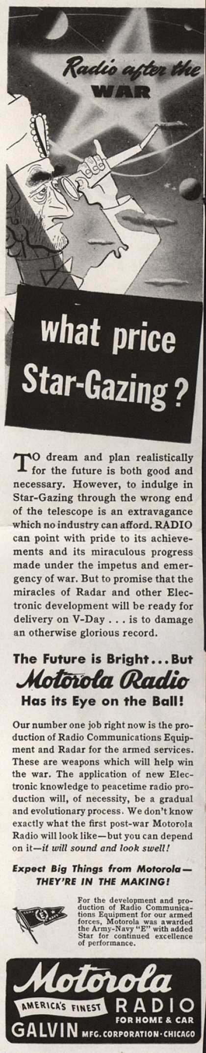 Motorola Radio's Radio – Radio after the War... what price Star-Gazing? (1943)