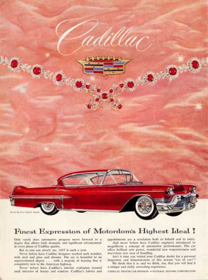 Cadillac Sedan De Ville Van Cleef Necklace (1957)