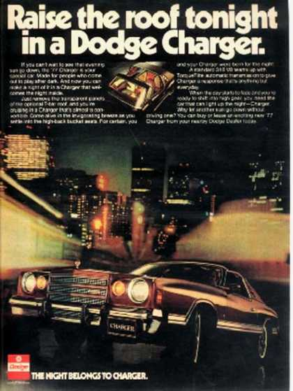 Chrysler's Charger (1977)