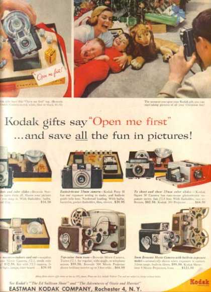 Kodak's Christmas gifts for 1958 (1958)