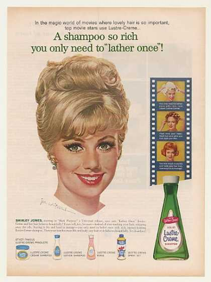 Shirley Jones Lustre-Creme Shampoo Jon Whitcomb (1962)