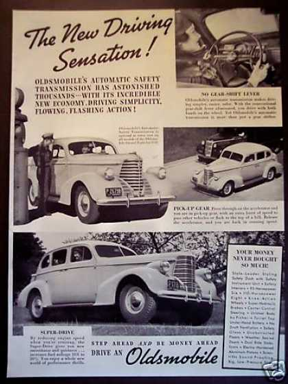 Oldsmobile Car Auto (1938)