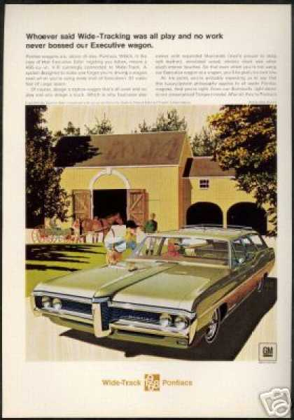Pontiac Executive Safari Wagon VK AF Art (1968)