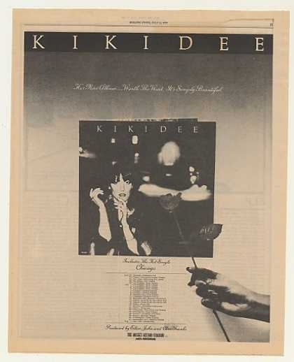 Kiki Dee Album &amp; Tour Rocket Records (1977)