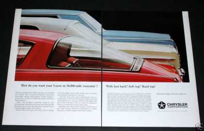 Chrysler Corp, Fast Back (1964)